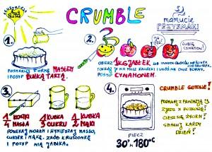 CRUMBLE by Mamucie Przysmaki, ilustracja by Anna Protas