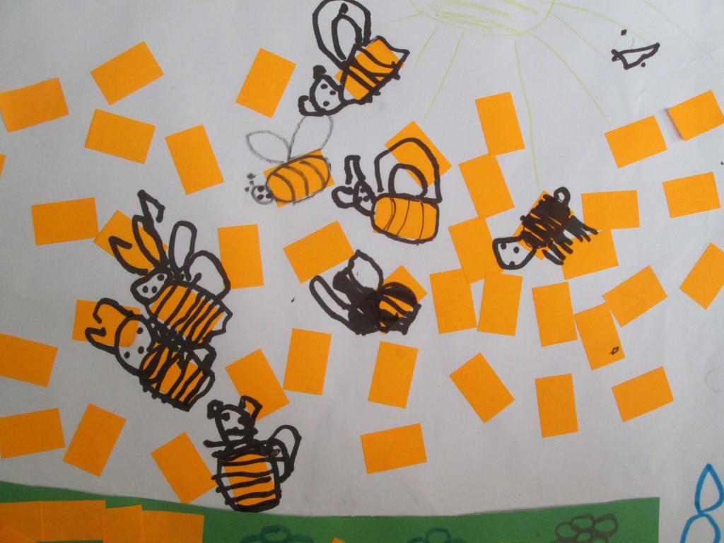 To jest praca Milo, ale jedną z pszczół narysowałam ja, zgadnij którą?