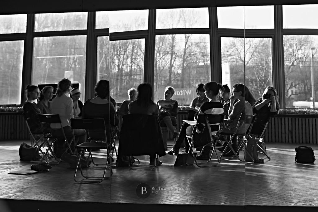 Warsztaty z Moniką Myszką-Wieczerzak fot.Barbara Bogacka