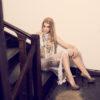 sukienka szydełkowa Fiona fot. Poruszenie.com crochet dress