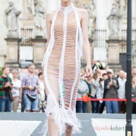 szydełkowe sukienki Anna Protas fot. Konrad Czajkowski