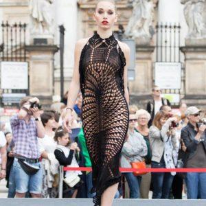 fot. Konrad Czajkowski crochet dress