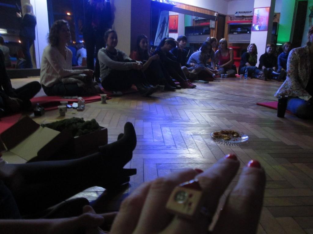 Misiurowy pierścionek dodał mi mocy i wewnętrznego spokoju. Dziękuję Agnieszko! :)