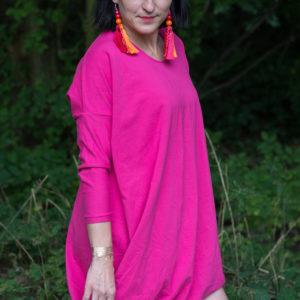 Fuksjowa Sukienka Mocy Anna Protas Fot. Daria Olzacka, Wizaż: Justyna Lunar Make Up