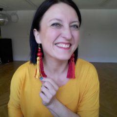 ProtasLove kolczyki z frędzlami Maki W Słońcu