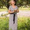 Wykroje Sukienek Mocy Anna Protas Fot: Daria Olzacka, Make Up: Justyna Lunar Make Up Mod: Ania Antonik-Czyżowicz A nic A nic