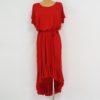 3. Czerwona Sukienka Z Falbanami 20180709_150205