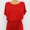 4. Czerwona Sukienka Z Falbanami 20180709_150221