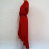 6. Czerwona Sukienka Z Falbanami 20180709_145849