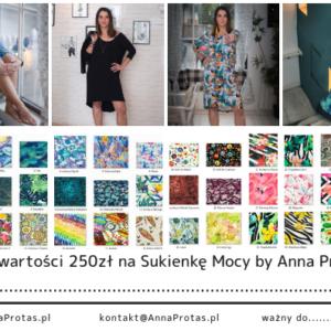 Bon Podarunkowy na Sukienkę Mocy by Anna Protas